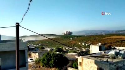 - Rus savaş uçakları İdlib'i vurdu: 2 ölü, 13 yaralı