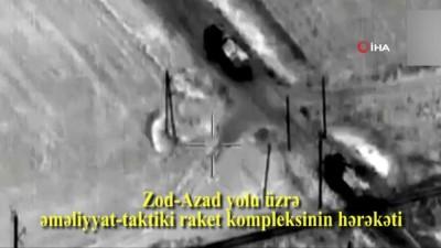 - Sivilleri hedef alan Ermenistan'a ait balistik füze sistemleri imha edildi
