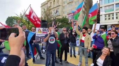 - Beyaz Saray önünde Azerbaycan'a destek gösterisi