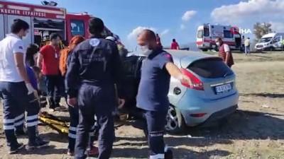 Evde sağlık hizmeti aracı ile otomobil çarpıştı: 1 ölü, 3 yaralı