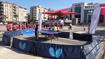 'Her Yerde Spor Herkes İçin Spor' etkinlikleri Canik'te başladı