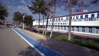 Başkent'teki üniversiteler birer birer bisiklet yoluna kavuşuyor