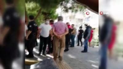 supermarket -  İzmir'de maske uyarısı yapılan şahıs kan döktü