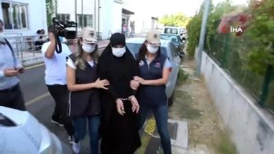 tutuklama talebi -  DEAŞ'lı kadın terörist, 2 ay boyunca bu evde saklanmış