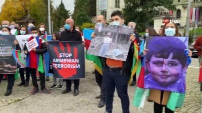 - İsviçre'de Türklerden Azerbaycan'a destek mitingi - Ermenilerin sivil katliamları protesto edildi