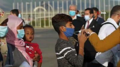 - Yunanistan'dan ilk grup mülteci Almanya'ya gitti