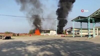 fabrika -  - Ermenistan, Terter'i vuruyor