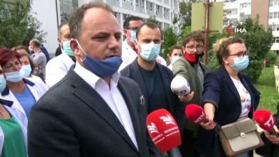 - Kosovalı sağlık çalışanları can güvenliklerinin sağlanmasını talep ediyor