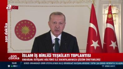 Başkan Erdoğan'dan İslam İşbirliği Teşkilatı'na video mesaj