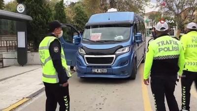- Keşan'da toplu taşıma araçlarına denetimler devam ediyor