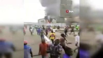 - Nijerya'nın Lagos eyaletinde sokağa çıkma yasağı