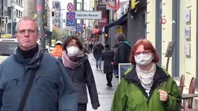 - Berlin'de ilk kez sokakta maske zorunluluğu geldi