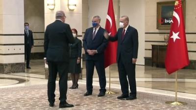 - Cumhurbaşkanı Erdoğan, Almanya Büyükelçisini kabul etti