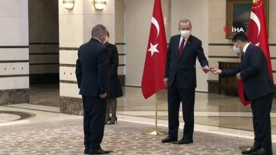 - Cumhurbaşkanı Erdoğan, İspanya Büyükelçisini kabul etti