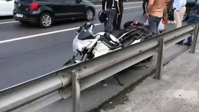 E5 Karayolunda trafik kazası: 1 yaralı