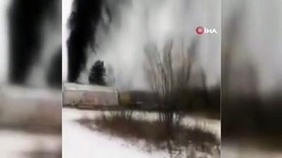 - Rusya'da petrol boru hattı patladı