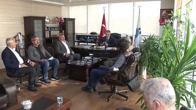 - TÖHOB Genel Başkanı Soydaş'dan İstanbul Özel Halk Otobüsleri Esnaf Odası Başkanı Ovacık'a ziyaret