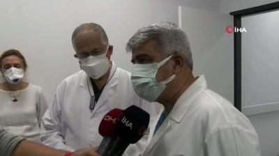 Almanya'da geliştirilen korona virüs aşısı Kocaeli'de gönüllü olan 3 kişiye yapıldı