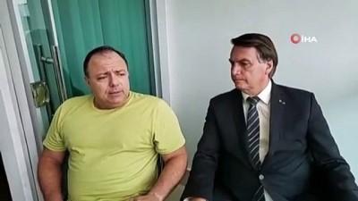 - Bolsonaro, Covid-19 hastası Sağlık Bakanı Pazuello'yu maskesiz ziyaret etti
