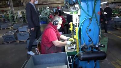 fabrika -  Çorlu'da fabrikalara korona virüs denetimi