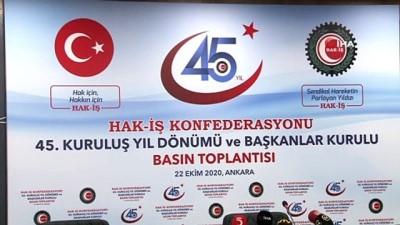 diyalog -  HAK-İŞ 45'inci kuruluş yıl dönümünü kutluyor