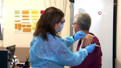 Korona virüs salgınına karşı Almanya'da geliştirilen aşı Sakarya'da ilk gönüllüye yapıldı