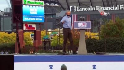 secim yarisi -  - Obama, Joe Biden için sahaya inerek oy istedi