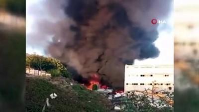 fabrika -  Başakşehir'de fabrika yangını