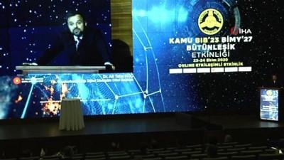 Dijital Dönüşüm Ofisi Başkanı Koç: 'Açık devlet verisine yönelik veri yönetimi prosedürleri, yasal ve idari düzenleme altyapıları ve rehberlik dokümanlarının hazırlanması çalışmaları devam ediyor'
