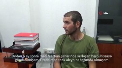 - Ermenistan askeri cephe hattında PKK'lı teröristlerin savaştığını itiraf etti