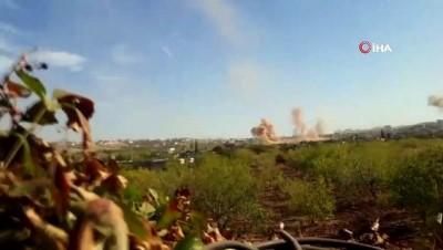 - Esad güçlerinden İdlib'e topçu saldırısı: 10 yaralı
