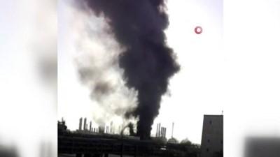 fabrika -  - İran'da petrokimya fabrikasında patlama