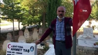 Kayseri Saldırısı Şehidi Ahmet Taş'ın Babası Osman Taş, ' Faillerin peşini bırakmadıkları için Cumhurbaşkanımıza teşekkür ediyorum'