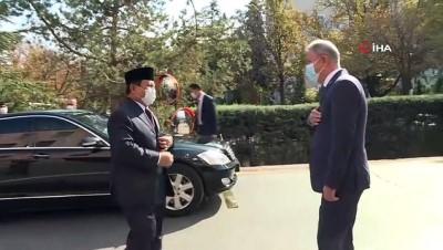 Milli Savunma Bakanı Akar, Endonezya Savunma Bakanı Subianto ile buluştu