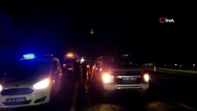 Kırşehir'de meydana gelen kazada 1 kişi hayatını kaybetti