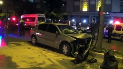 Aydın'daki trafik kazası: 1 yaralı