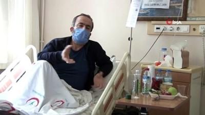 """diyalog -  Covid-19 hastası: """"Torunu kucaklayıp öpüyorduk, 2 gün ateşlendi sonra kenara çekildi"""""""