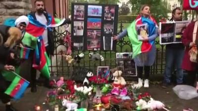 - İsveç'te Ermenistan'ın saldırılarında hayatını kaybeden Azerbaycanlı siviller anıldı