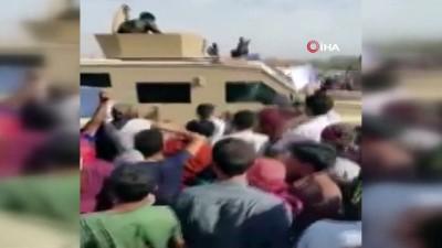 - Suriye'de Fransa'yı protesto eden sivillere PKK/YPG'li teröristler ateş açtı: 2 yaralı