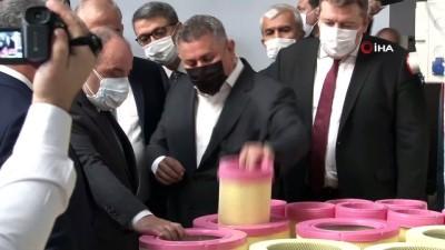 Bakan Varank, Denizli Çardak OSB'de incelemelerde bulundu