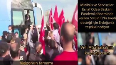 CHP'li Veli Ağbaba'dan kırpılmış video ile algı operasyonu!