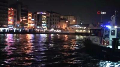 Deniz polisinden sahildeki vatandaşlara sirenli ve anonslu korona virüs uyarısı