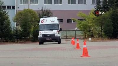 - Kırşehir'de, 112 şoförleri eğitim alıyor