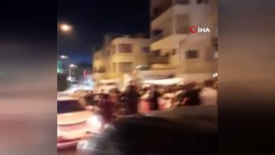 Kudüs'te yüzlerce kişi Fransa'yı protesto etti