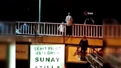 Mersin'de köprüden atlayan genç hayatını kaybetti
