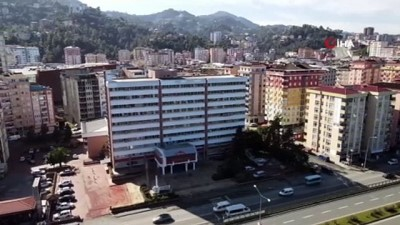 deprem riski -  Rize'de kentsel dönüşüm yapılacak sahadaki kamu binalarına dikkat çekti