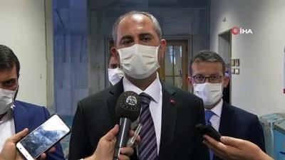 Adalet Bakanı Abdülhamit Gül'den Berberoğlu açıklaması