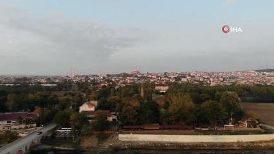 Kadim payitaht şehirde gün batımı mest etti