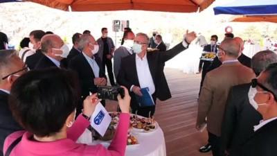 Ankara Büyükşehir Belediye Başkanı Yavaş medya temsilcileri ile bir araya geldi