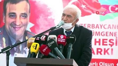 - Azerî Şehit General Heşimov'un ismi Osmangazi'de yaşayacak